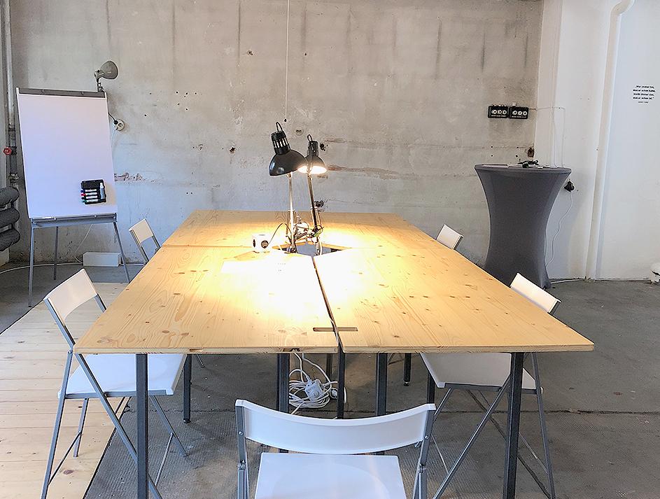mehrwerkstatt offsite location für kleine und große Gruppen