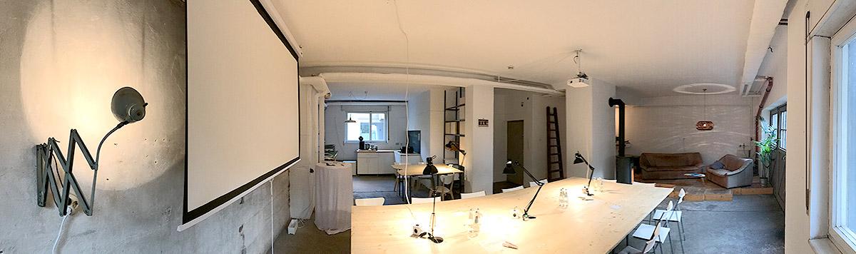 Workshop Raum Nürnberg Panorama-Ansicht Innen