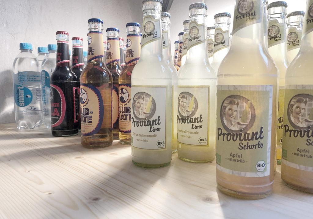 Proviant Limonade und andere leckere Getränke für Ihre Veranstaltung in der Offsite-Location Nürnberg